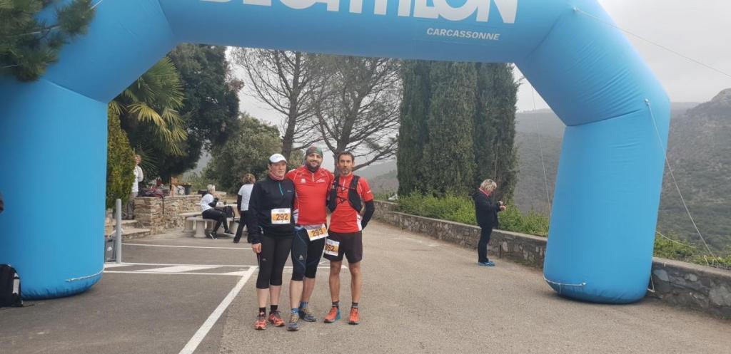 A l'assaut du Minervois et du semi-marathon de Rome !