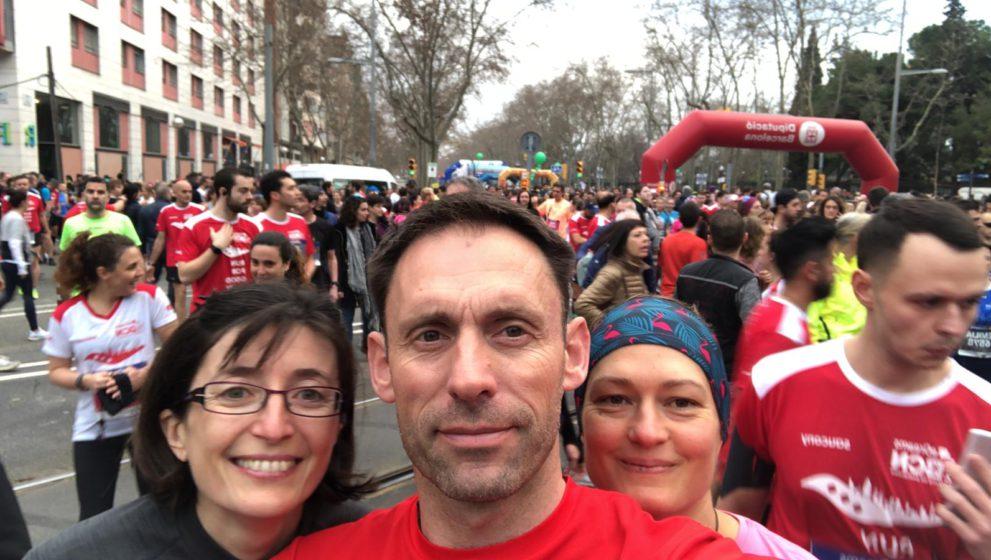 Poli trail de Gruissan et semi marathon de Barcelone
